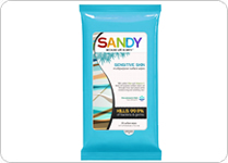 sandy-wipes