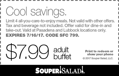graphic relating to Newport Aquarium Coupons Printable named Souper salad coupon 2019 : ssd